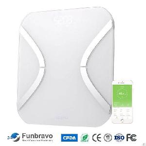 Funbravo Smart Body Fat Scale Bmi Analyzer For Apple Health Fitbit Google Fit