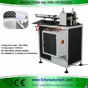hdpe pipe rotary cutting machine