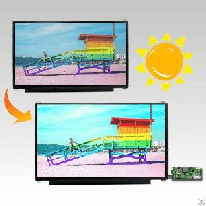 High Brightness Display Sunlight Readable Screen