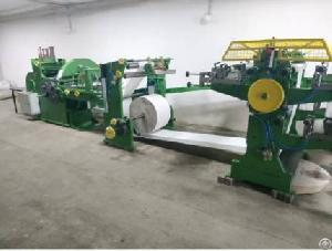 Overhauled Flat / Satchel Bag Making Machine With 3 Color In-line Printer