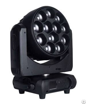 moving head wash dj light 12 x 40w 4 1 led zoom phn036