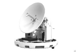 satpro ku band 0 45m maritime satellite antenna