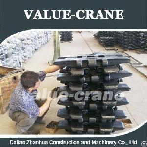crawler crane track pad fuwa quy150 quy250