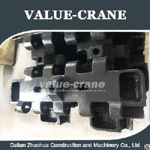 kobelco cke2500 track shoe pad crawler crane zhaohua