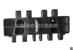 ls 248rh 5 crawler crane track pad shoe replacement
