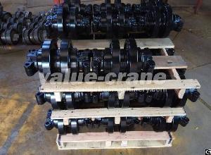 sc500 2 track roller crawler crane bottom manufacturers