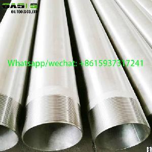 api stc stainless steel drilling water casing tube plein