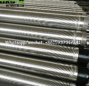 stainless steel wire wrapped rod screens