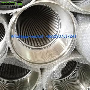 drilling johnson v wedge wire screen ss304 tube strainer