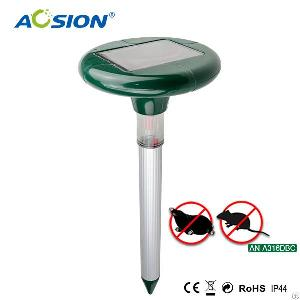 aosion garden light sonic vibrating solar powered gopher repellent a316dbc