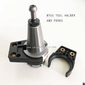 bt40 plastic tool fork gripper fingers cnc