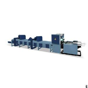 Automatic Sticky Memo Pad Gluing Machine Model Agst-680