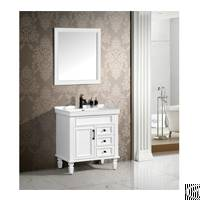 Durable Solid Wood Bathroom Cabinet