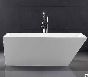 Small Free Standing Bath Tubs , Freestanding Acrylic Soaking Tub Oem Avaliable Yx-735b