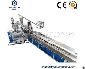 pvc artificial marble stone profile extrusion line