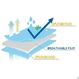 Sfs Tri-laminated Breathable Waterproof Nonwoven
