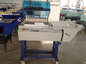 shrink packing machine 2 1 plastic film heat shrinkable sealing ys zb 425