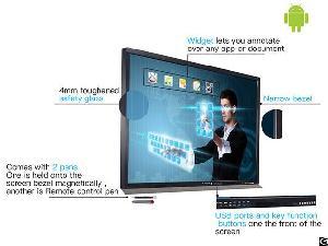 ultra hd touch screen smart board