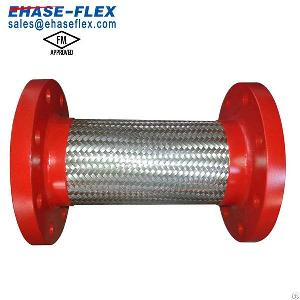 fm certificated braided stainless steel flexible joint