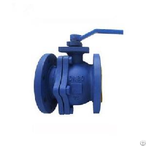 din flange carbon steel ball valve