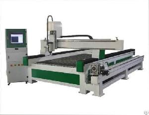 3d cnc wood carving machine rotary axis