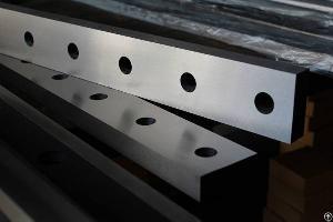 steel cutting blade cnc guillotine shearing machine