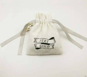 cotton jewelry bag bracelet pendants