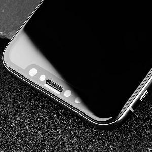 iphone xs 3d covered tempered glass screen protector