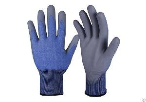pu coated safety gloves pcg 007