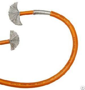 ev hev voltage shielded car cable