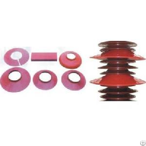 Silicone Rubber Shield For Porcelain Insulators