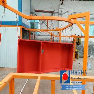 industrial powder coating line machine cabinet system