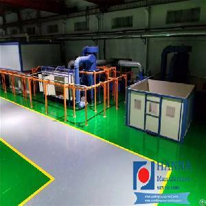 powder coating plant oven car rims