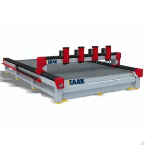 Water Jet Cnc Cutter For Cutting Metal Stone Glass