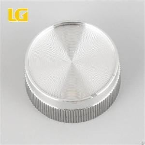 iso9001 factory 40mm safe aluminum volume knob car audio