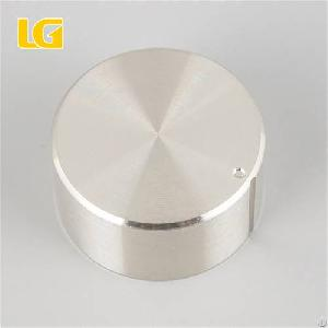 Iso9001 Oem China Round Aluminum Alloy Gas Cooker Knob With Low Price