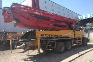 Used Concrete Boom Pump