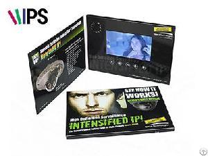 funtek 5 ips screen video brochure vgc 050 factory supplier