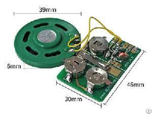 Funtek Mp3 Sound Module Slide Tongue Voice Chip For Diy Audio Cards