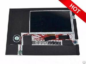 funtek video module tft lcd screen diy brochure cards