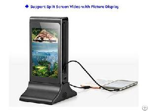 fyd835s funsuper 7 touch screen table advertising player charging station