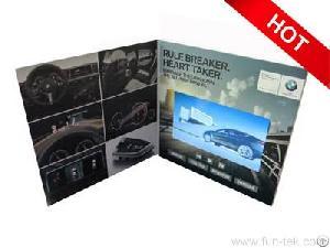 smart import funtek lcd video brochures b2b tools