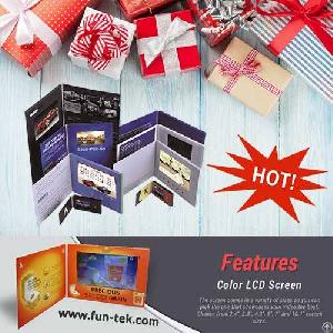 10 personalized video brochure card christmas gifts fun technology