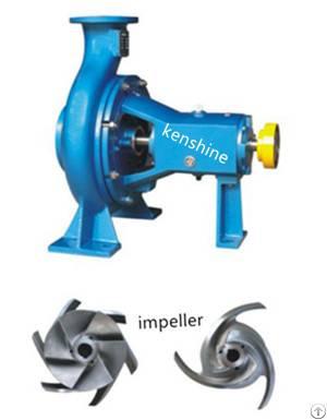 Ks Open Type Impeller Centrifugal Pulp Pump