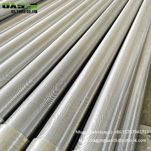 0 1mm slot water wire wound screen sand gravel control gap