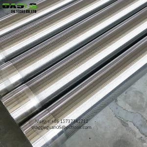 oasis factory water johnson screen vee shape sand control pipe