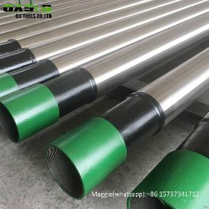 Slip On Wedge Wire Screen Stainless Steel Based Perforated Casing Pipes For Deep Well