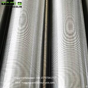 Stainless Steel V-wire Wound Johnson Wedge Wire Screen Filter