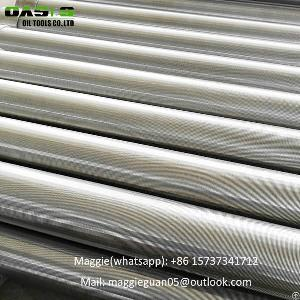 stainless steel wedge wire wound screen filter