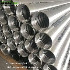 wedge wire screen filter welded v water rotary